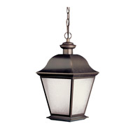 Kichler Lighting Mount Vernon 1 Light Fluorescent Outdoor Ceiling in Olde Bronze 10910OZ
