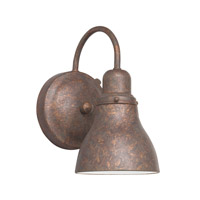 Kichler Lighting Signature 1 Light Fluorescent Outdoor Wall Lantern in Distressed Copper 10924DCO