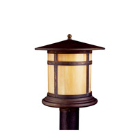 Kichler Lighting Tularosa 1 Light Fluorescent Outdoor Post in Canyon View 10944CV photo thumbnail