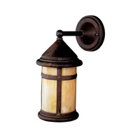 Kichler Lighting Tularosa 1 Light Fluorescent Outdoor Wall Lantern in Canyon View 10946CV photo thumbnail