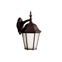 Kichler 10954TZ Madison 1 Light 17 inch Tannery Bronze Fluorescent Outdoor Wall Lantern