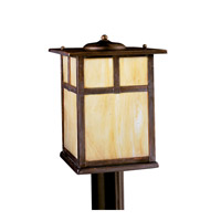 Kichler Lighting Alameda 1 Light Fluorescent Outdoor Post in Canyon View 10959CV