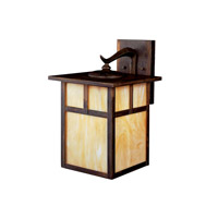 Kichler Lighting Alameda 1 Light Fluorescent Outdoor Wall Lantern in Canyon View 10960CV photo thumbnail