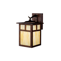 Kichler Lighting Alameda 1 Light Fluorescent Outdoor Wall Lantern in Canyon View 10961CV