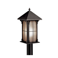 Kichler Lighting Astoria 1 Light Fluorescent Outdoor Post in Olde Bronze 10967OZ photo thumbnail