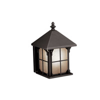 Kichler Lighting Astoria 1 Light Fluorescent Outdoor Wall Lantern in Olde Bronze 10968OZ