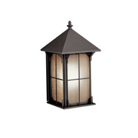 Kichler Lighting Astoria 1 Light Fluorescent Outdoor Wall Lantern in Olde Bronze 10969OZ
