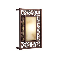 Kichler Lighting Tuscana 1 Light Fluorescent Outdoor Wall Lantern in Legacy Bronze 10992LZ