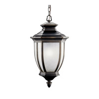Kichler 11006RZ Salisbury 1 Light 12 inch Rubbed Bronze Fluorescent Outdoor Ceiling photo thumbnail