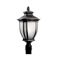 Kichler Lighting Salisbury 1 Light Fluorescent Outdoor Post in Rubbed Bronze 11008RZ