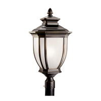 Kichler Lighting Salisbury 1 Light Fluorescent Outdoor Post in Rubbed Bronze 11009RZ photo thumbnail