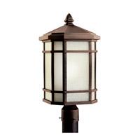 Kichler 11020PR Cameron 1 Light 20 inch Prairie Rock Fluorescent Outdoor Post