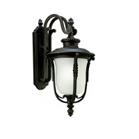 Kichler Lighting Luverne 1 Light Fluorescent Outdoor Wall Lantern in Rubbed Bronze 11031RZ