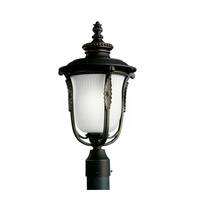 Kichler Lighting Luverne 1 Light Fluorescent Outdoor Post in Rubbed Bronze 11035RZ photo thumbnail