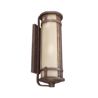Kichler Lighting Aged Prairie 4 Light Fluorescent Outdoor Wall Lantern in Aged Bronze 11039AGZ photo thumbnail