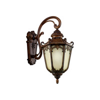 Kichler Lighting McCullam 1 Light Fluorescent Outdoor Wall Lantern in Brown Stone 11043BST photo thumbnail