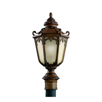 Kichler Lighting McCullam 1 Light Fluorescent Outdoor Post in Brown Stone 11051BST photo thumbnail