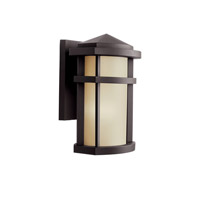 Kichler 11067AZ Lantana 1 Light 10 inch Architectural Bronze Outdoor Wall Light