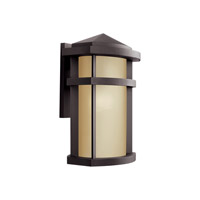 Kichler 11069AZ Lantana 1 Light 15 inch Architectural Bronze Outdoor Wall Light