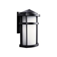 Kichler Lighting Lantana 1 Light Fluorescent Outdoor Ceiling in Textured Granite 11069GNT
