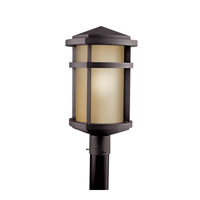 Kichler Lighting Lantana 1 Light Fluorescent Outdoor Post in Architectural Bronze 11070AZ photo thumbnail