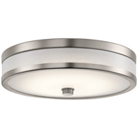 Kichler 11302CPLED Pira LED 12 inch Champagne Flush Mount Ceiling Light