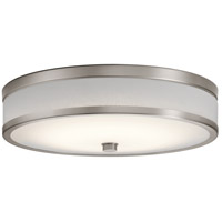 Kichler 11303CPLED Pira LED 15 inch Champagne Flush Mount Ceiling Light