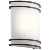 Kichler 11319OZLED Signature LED 10 inch Olde Bronze Wall Sconce Wall Light photo thumbnail