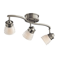 Kichler 206NI Ceiling Space 1 Light 8 inch Brushed Nickel Flush Mount Ceiling Light alternative photo thumbnail