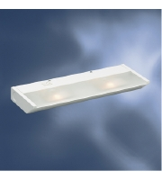 Kichler Lighting Direct-Wire 2Lt Xenon 120v/20w Cabinet Strip/Bar Light in White 12012WH