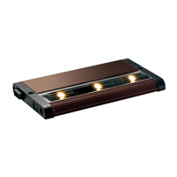 Kichler Lighting Design Pro LED Modular 6inch Cabinet Strip/Bar Light in Brushed Bronze 12301BRZ