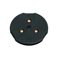 Kichler Lighting LED Puck Light 24v Cabinet Disc/Puck Light in Black (Painted) 12310BK