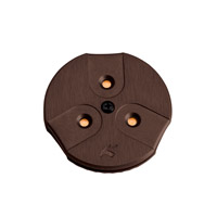 Kichler Lighting LED Puck Light 24v Cabinet Disc/Puck Light in Brushed Bronze 12310BRZ