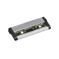 Modular LED 24V LED 6 inch Brushed Nickel Cabinet Strip in 3000K