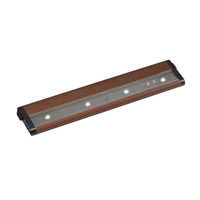 Kichler Lighting Design Pro LED 12inch Cabinet Strip/Bar Light in Brushed Bronze 12313BRZ