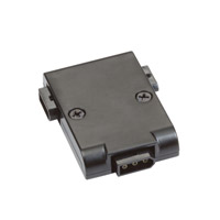 Modular LED 2 inch Black Undercabinet Power Connector