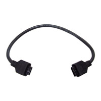 Kichler 12343BK Modular LED 24V 21 inch Black Undercabinet Interconnect Cable