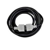 Kichler Lighting Power Supply Lead 8ft (LED) Cabinet Accessory in Black 12346BK photo thumbnail