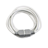 Kichler Lighting Power Supply Lead 8ft (LED) Cabinet Accessory in White 12346WH photo thumbnail