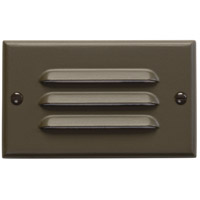 Kichler 12600AZ Step and Hall Lights Architectural Bronze Indoor Step Light, LED, 4.5 inch