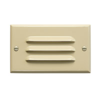 Kichler Lighting LED Step Light Horiz. Louver Cabinet Fixture-Misc Light in Ivory 12600IV photo thumbnail
