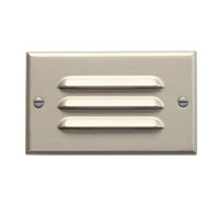 Kichler Lighting LED Step Light Horiz. Louver Cabinet Fixture-Misc Light in Brushed Nickel 12600NI