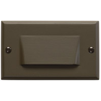 Kichler Lighting LED Step Light Shielded Cabinet Fixture-Misc Light in Architectural Bronze 12602AZ photo thumbnail