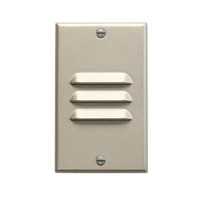 Kichler Lighting LED Step Light Vertical Louver Cabinet Fixture-Misc Light in Brushed Nickel 12656NI
