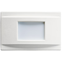 Kichler Step and Hall Light LED Steplight in White 12675WH
