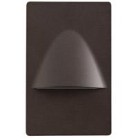 Kichler 12677AZ Step and Hall 120V 120V 1.29 watt Architectural Bronze LED Step Lights
