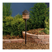 Kichler 15005AZT Six Groove 12V 24.4 watt Textured Architectural Bronze Landscape 12V Path & Spread