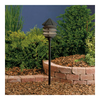 Kichler 15005BKT Six Groove 12V 24.4 watt Textured Black Landscape 12V Path & Spread