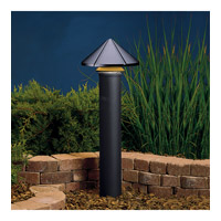 Kichler Lighting Six Groove 1 Light Landscape 12V Path & Spread in Textured Black 15011BKT