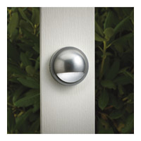 Kichler Lighting Outdoor Low Volt 1 Light Landscape 12V Deck in Brushed Nickel 15064BN